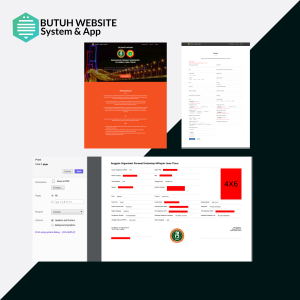 portfolio web system form