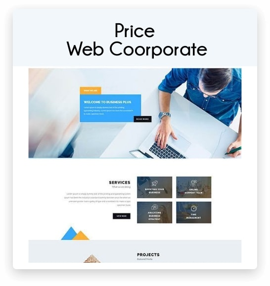 price web coorporate