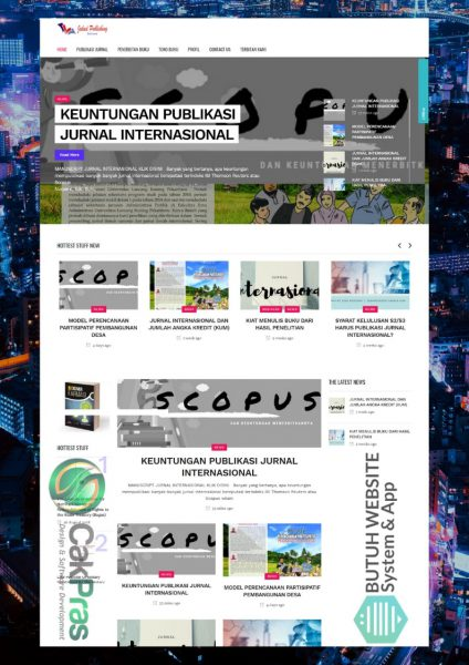portfolio website news media jakad