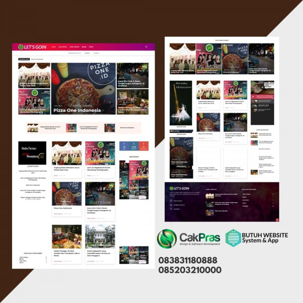 jasa website berita surabaya